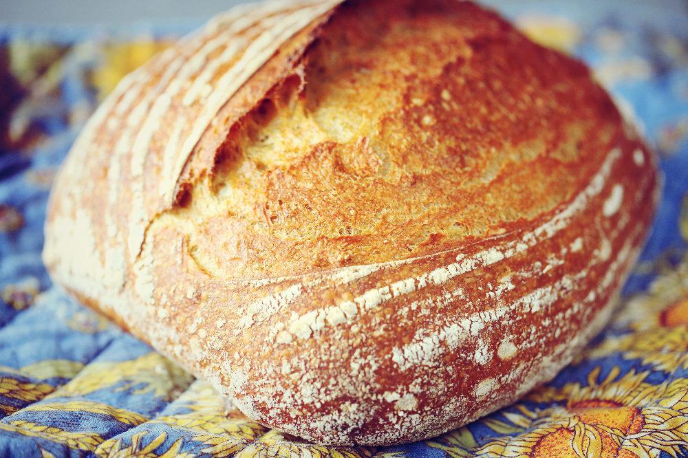 Pain à la patate douce // Sweet Potato Sourdough Bread